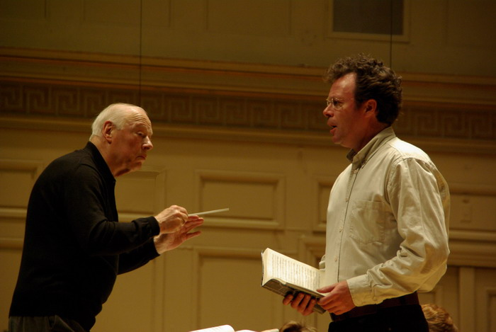 PH with Bernard Haitink and Boston Symphony Orchestra